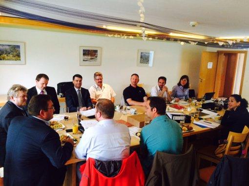 Kick-Off-Meeting für das Bürgerwindkraftprojekt Pollenfeld