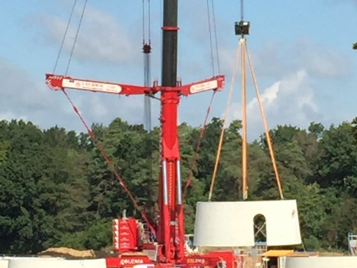 Pressemeldung EK: Der Turmbau beginnt
