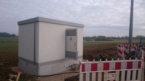 Bau Übergabestation