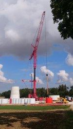 Der Turmbau beginnt